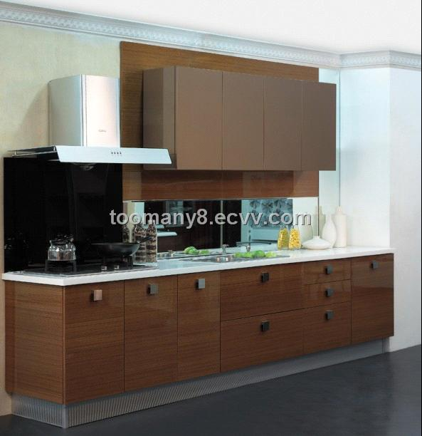 Wood Veneer Kitchen Cabinet From China Manufacturer Manufactory Factory And Supplier On Ecvv Com