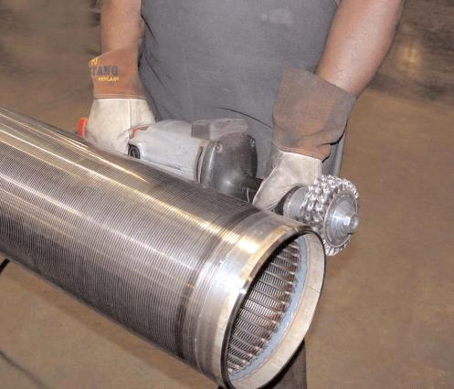 effective filter pipe Johnson screens wire mesh spiral pipe ...