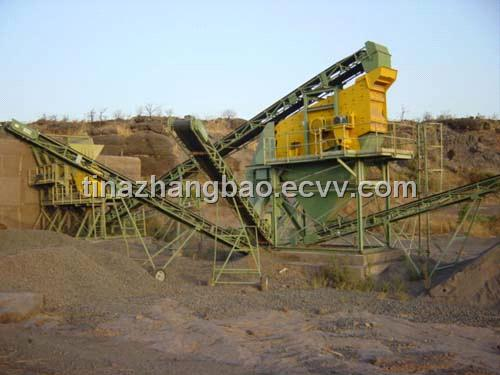 large capacity belt conveyor