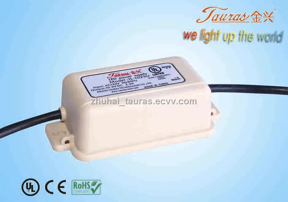 switching power supply UL Series 10V 25W Constant Voltage led driver ...