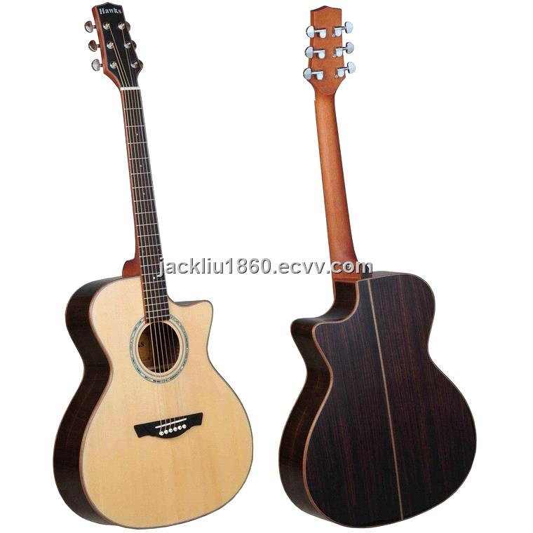 Mini jumbo acoustic guitar with solid spruce top and rosewood back mini jumbo acoustic guitar with solid spruce top and rosewood back side ht sciox Gallery