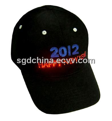 New Year cap with twinkling light F6P10B11