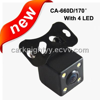 170 degrees,Reverse Camera for universal type with 4LED