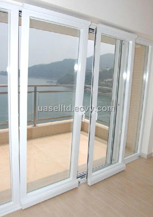 Aluminium Doors Product : Series aluminium sliding and tilting door with german