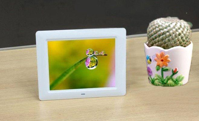 8 Inch High-Definition 800 * 600 Digital Picture Frame