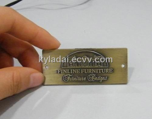 vintage furniture logo. Fine Vintage Brass Logo Antique Metal Furniture Logovintage Embossed Logo With Vintage Furniture Logo