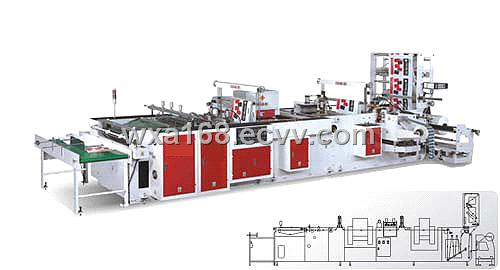 Fully Automatic Plastic Hand Bag Making Machine