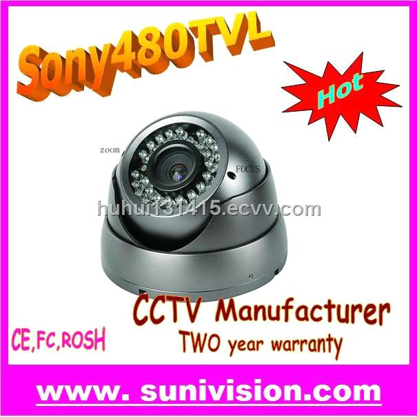 Infared CCTV CAMERA With varifocal Len