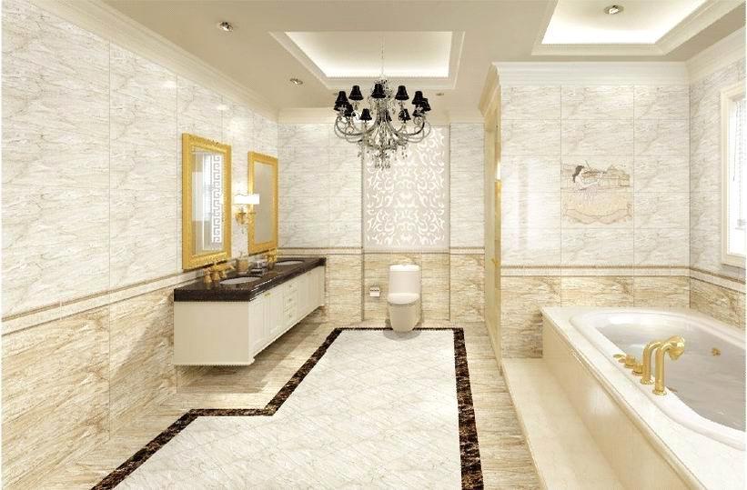 Interior Glazed Ceramic Wall Tile (TFA36071+TFB36072) purchasing ...