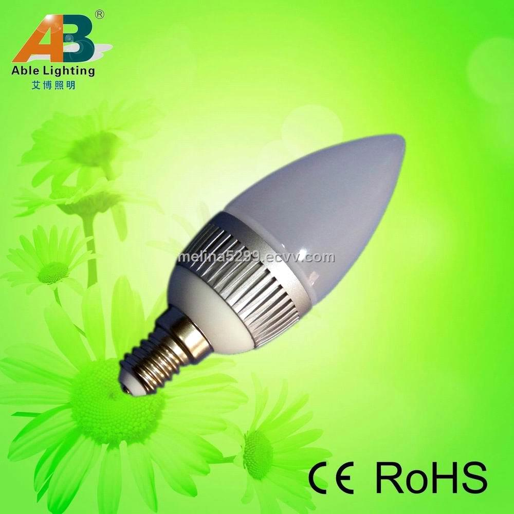 Mini e14 led candle light with ce and rohs