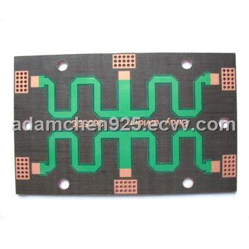 Rogers Base Single-sided PCB with High Frequency Circuit Board and OSP Surface Treatment