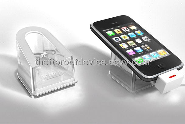 Security Acrylic Display Stand For Mobile Phone Or Tablet