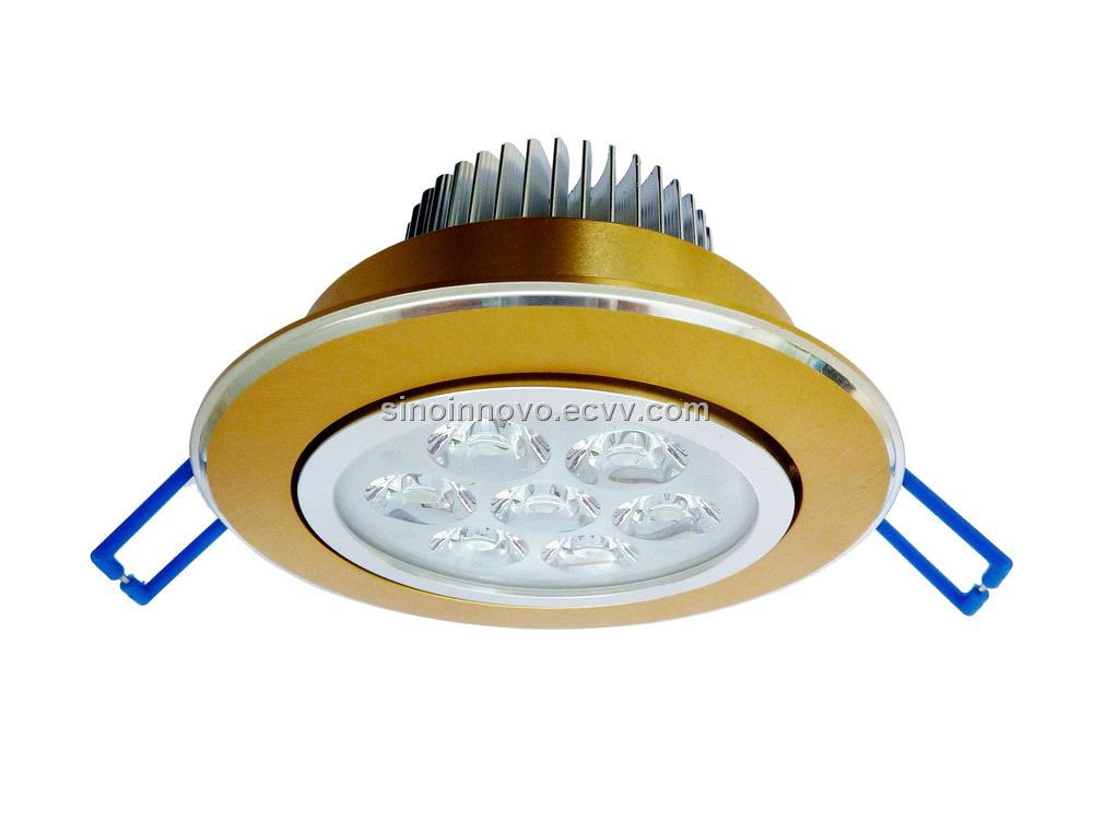 Sinoinnovo LED Downlight for Ceiling Super Brightness 7x1W