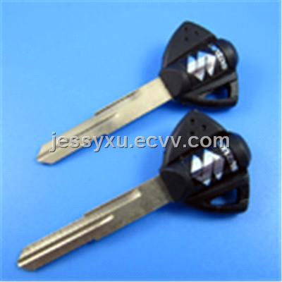 Suzuki Motocycle Key Shell (Balck Color)