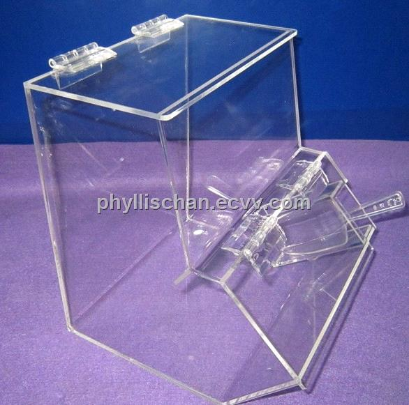 Transparent Acrylic Candy Box With Scoop