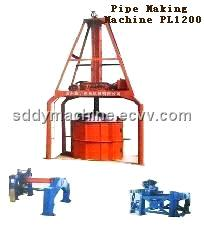 Vertical Extruding Pipe Making Machine / Pipe Machine (PL1200)