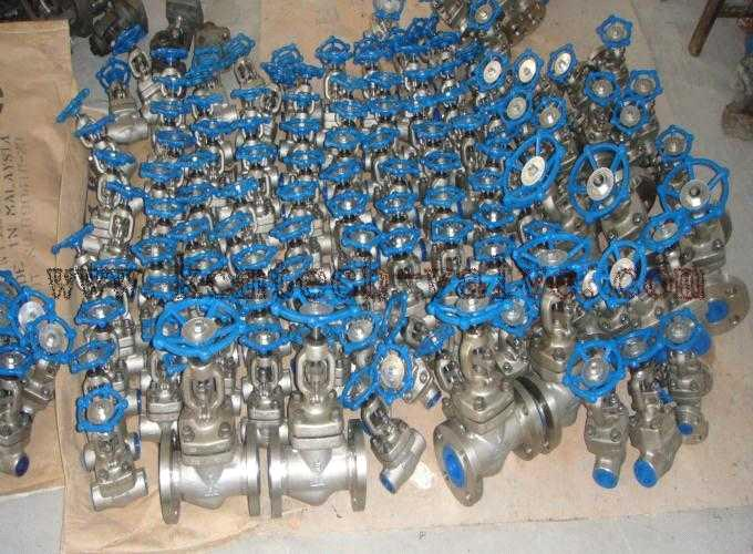 Weld Bonnet Forged Gate Valve