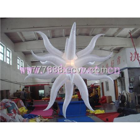 lighting star decoration /inflatable star /bar decoration