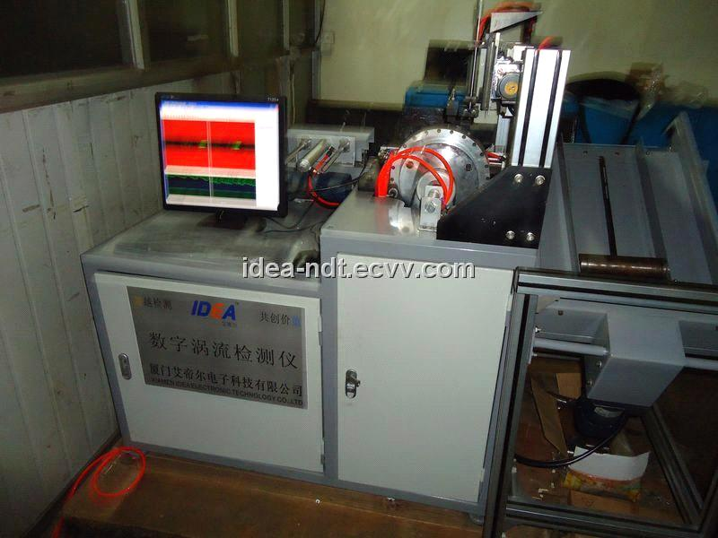 on-line/off-line Eddy Current Metal Flaw Detector