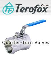Quarter-Turn Valves ,Ball valves, Metal seated valves, Jacket Valves, Sanitary ball valves