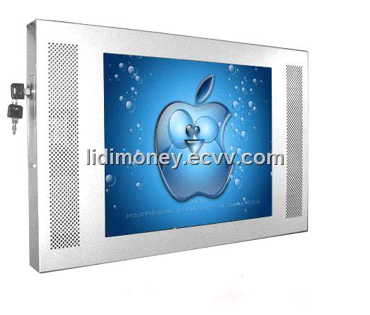 17 Inch wall mounting full hd LCD Advertising Screen