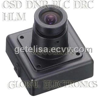 3D DNR CCD Board camera square camera mini zoom camera