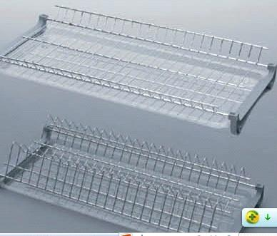 2 Tier Dish Kitchen Cabinet Plate Rack & 2 Tier Dish Kitchen Cabinet Plate Rack purchasing souring agent ...
