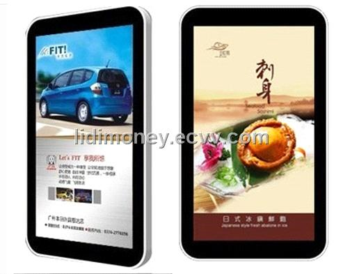 32 Inch Wall Mount LCD Advertising Display with Android & PC Touch System for Mall