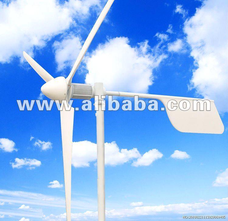 3KW 3-blade Small Home Wind Turbine
