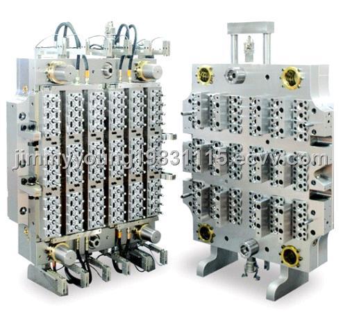 72Cavity PET preform mould/Hot Runner/Pneumatic valve gate type