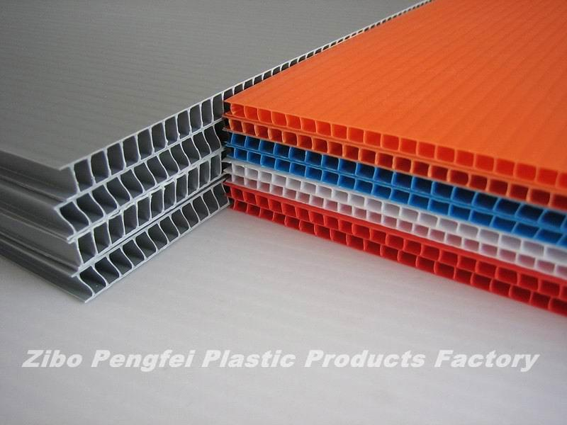 7mm Strong Corrugated Pp Plastic Sheet From China