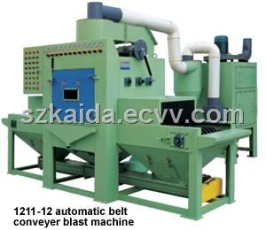 Automatic Belt Conveyer Sand Blast Machine