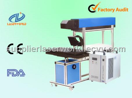 CO2 glass tube laser marking machine for no-metals