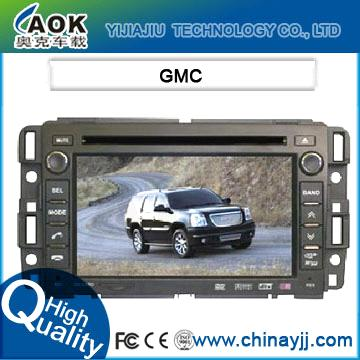 Car dvd gps audio player special for gmc with gps navigation