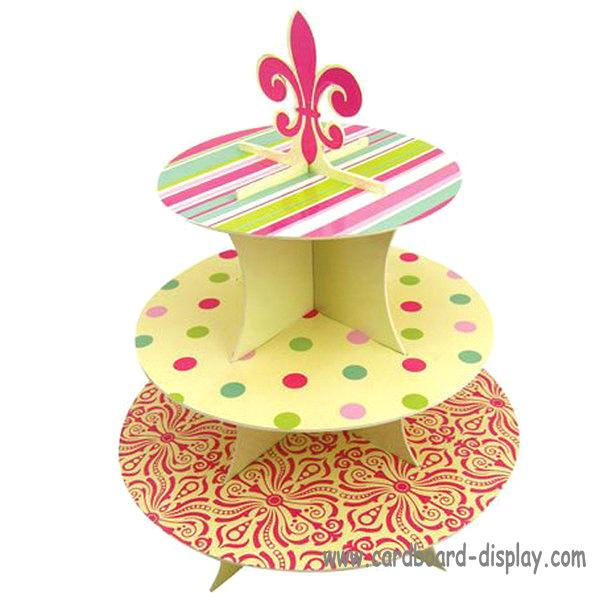 Cardboard Cupcake Stand For Ceremony purchasing, souring agent ...