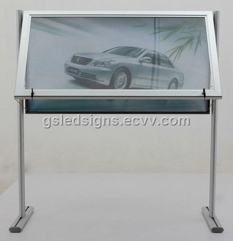 Double Sided LED Outdoor Poster Frame with stand