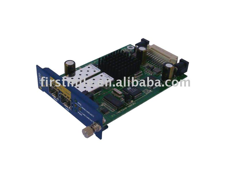 EOAM capable Gigabit Ethernet Fiber Media Converter support 802.1ag