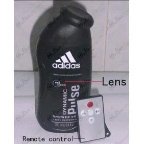 Miraculous Hd Adidas Mens Shower Gel Bathroom Spy Camera Motion Home Interior And Landscaping Transignezvosmurscom
