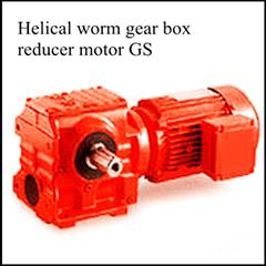 Helical Worm Geared Motor | Specialized Manufacturer