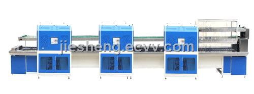 JS-806NIR Double-layer infrared cement drying and activating shoe making conveyor