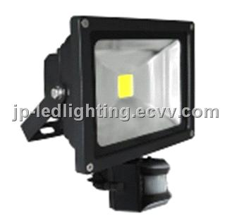 Outdoor Led Floodlighting Tunnel Light Project Motion Sensor Floodlight 20w