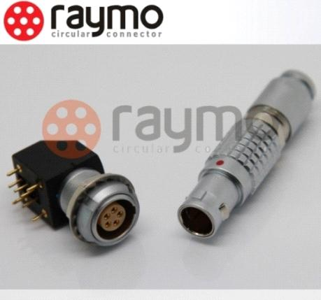 Lemo connector, push pull connector, B series EXG socket, i.e.: EXG.1B.306.HLN