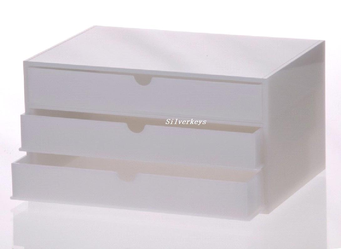 Multideck Acrylic Cosmetic Organizer And Box ...
