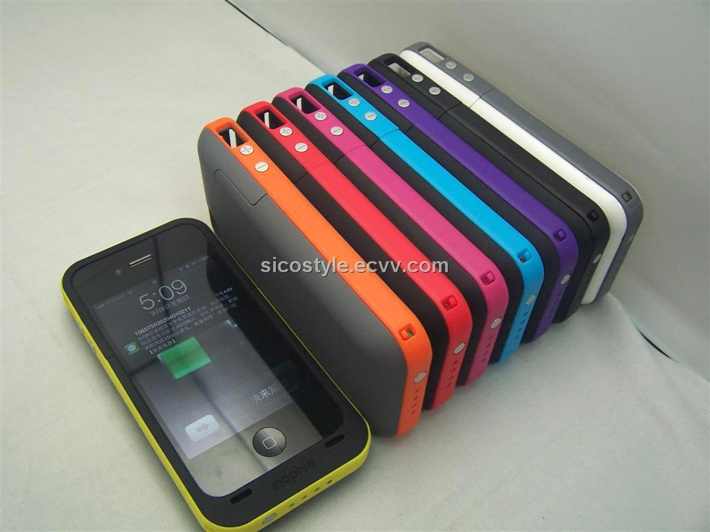 reputable site 9ee42 a17f1 Made In Shenzhen 2000mAh Battery Case For iPhone 4/4S Mophie Juice Pack Plus