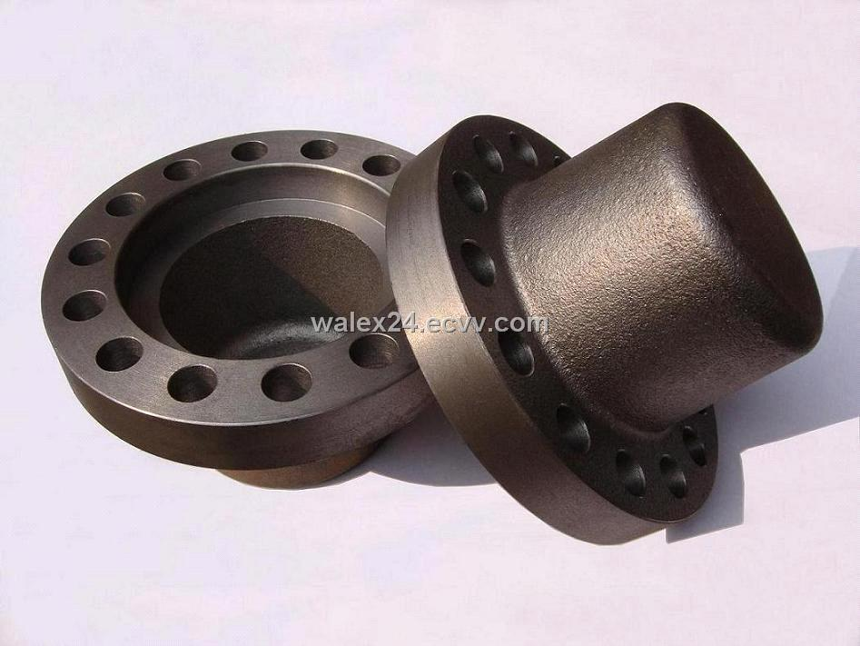 Metal shipping cap for submersible pump