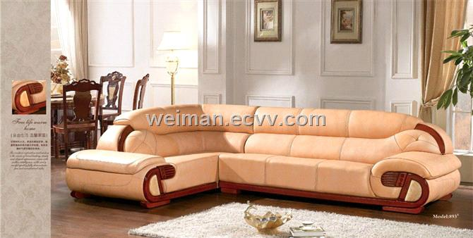 Modern Leather Sofa Set Oudisi 893