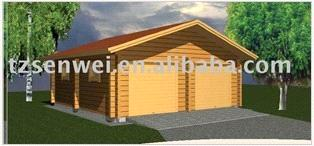 Moveable Wooden Carport