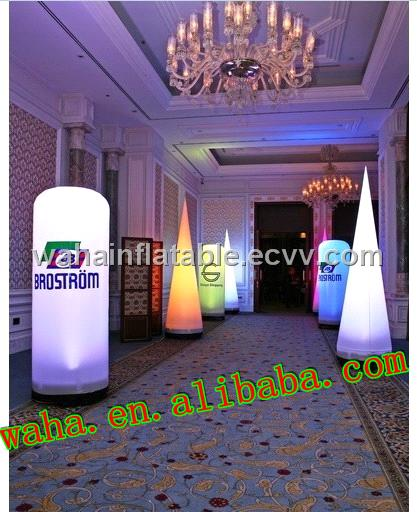 NEWLY promotinal event decoration with led inflatable tube