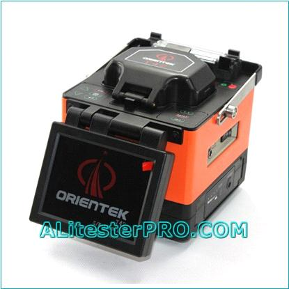 Orientek T42 Digital Fusion Splicer/Fiber Splicing Machine Kit w/Fiber Cleaver