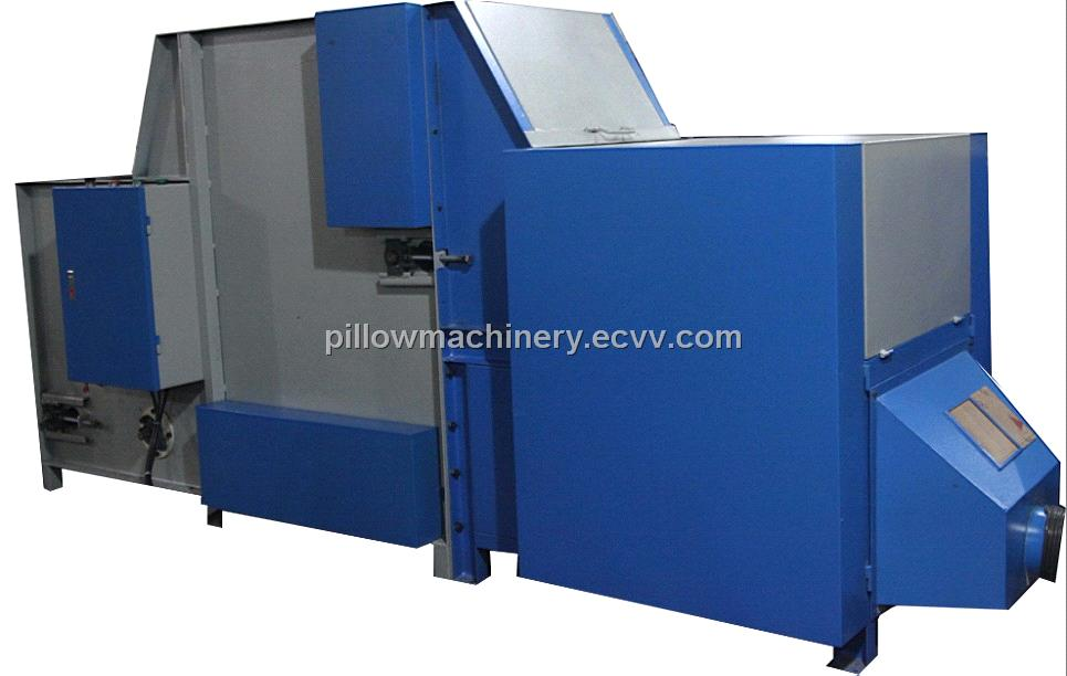 POLYESTER FIBER FEEDING & CARDING MACHINE
